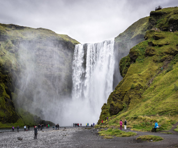 Feel the power of nature -  Skógafoss, Iceland